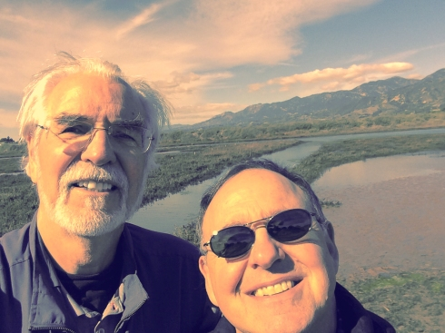 Jon and Dana at Carpenteria Salt Marsh