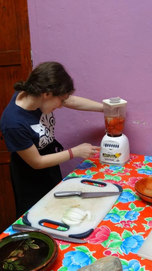 Making Salsa in the Blender