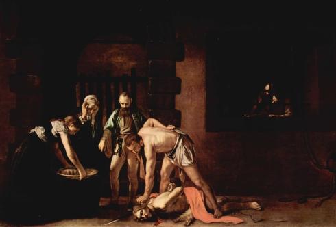 The Beheading of John the Baptist – Michaelangelo Merisi da Caravaggio